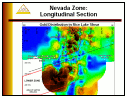 Nevada Zone: Longitudinal Section